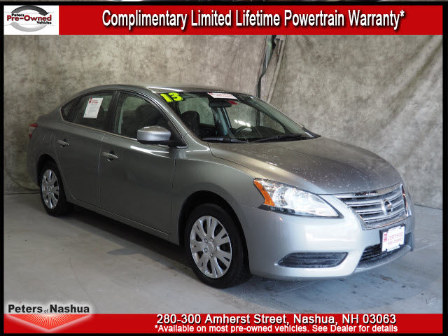 Certified Pre Owned 2013 Nissan Sentra Sv Sv 4dr Sedan In