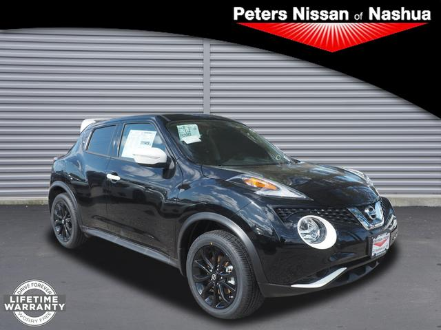 new 2017 nissan juke sv awd sv 4dr crossover in nashua 17n405 peters nissan of nashua. Black Bedroom Furniture Sets. Home Design Ideas